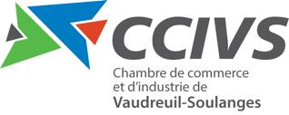 Logo de la Chambre de commerce et industrie de Vaudreuil-Soulanges.